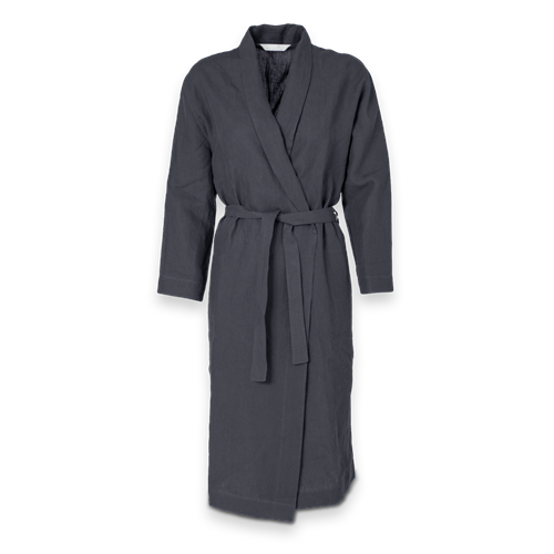 Julia Housecoat - Dark Grey