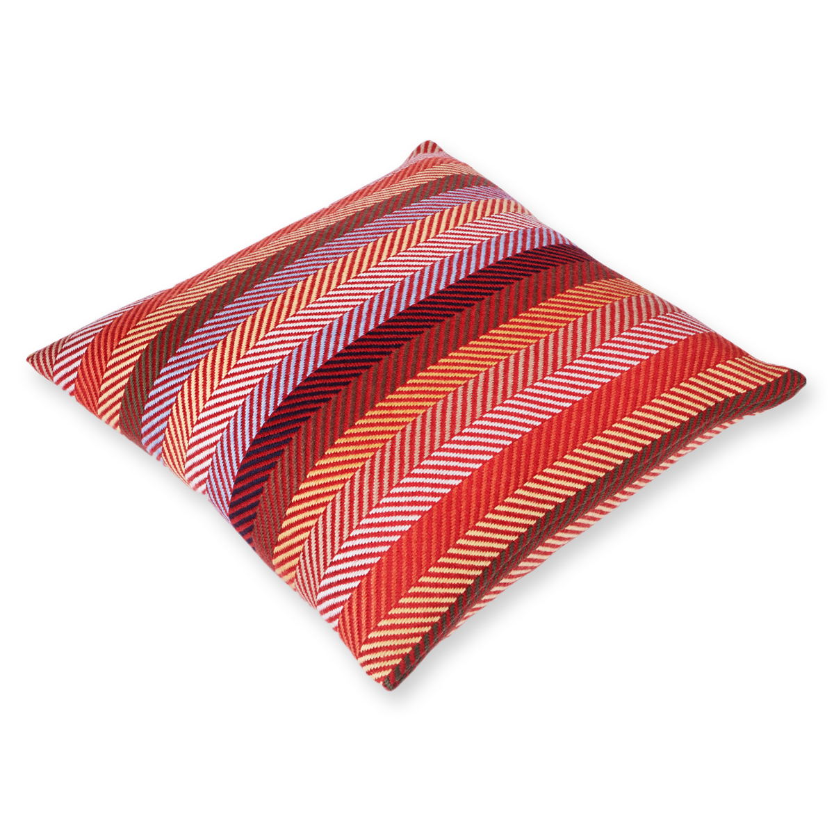 Red Striped sofa cushion cover